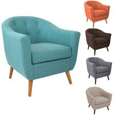 rockwell mid century accent chair chairs living room