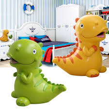 Children's Cartoon Piggy Bank Lovely <b>Dinosaur Shaped</b> Resin Coin ...