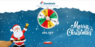 dominos spin win gift vouchers expired earticleblog by spinning dominos christmas gift wheel we can grab gift vouchers worth rs 150 and rs 100