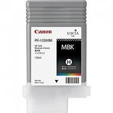<b>Картридж Canon PFI-103MBK</b> matte black (матовый черный) для ...