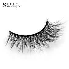 <b>SHIDISHANGPIN</b> 5 pairs strip <b>mink lashes 3d</b> long false <b>eyelashes</b> ...