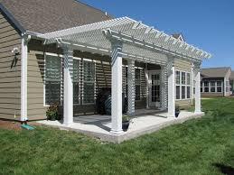 aluminium patio cover surrey: deluxe freestanding coolbreeze aluminum pergola wwwnexaninccom