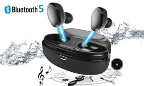Up To 70% Off on <b>Wireless Earbuds Bluetooth 5</b>.... | Groupon Goods