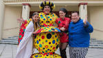 Magic and mayhem as Aladdin flies into town