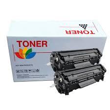 <b>2 pk</b> compatible <b>hp</b> 12a q2612a Laserjet 1022 3015 3030 3010 ...
