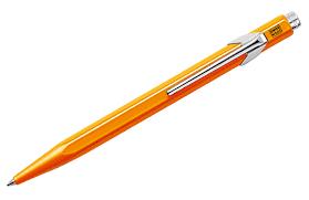 <b>Caran d'Ache</b> 849 Pop Line <b>шариковая</b> (оранжевый корпус, в ...