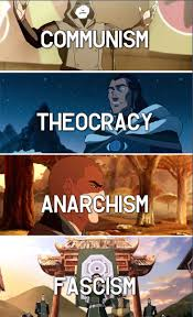 best ideas about political ideology gitlow v new each main legend of korra villain represents a different political ideology even the more minor