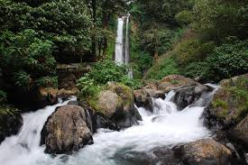 is a beautiful tourist finish inward northward usage of  Bali Beaches; Gitgit Waterfall is The Beautiful Waterfall inward Bali