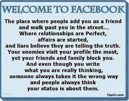 This pretty much sums it up about Facebook! lol! | Things That ... via Relatably.com