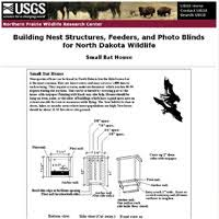 Bat House Plans   Free Bat House PlansSmall Bat House Plan Image
