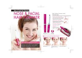 <b>NOSE</b> & FACIAL <b>HAIR TRIMMER</b>