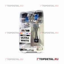 <b>Лампа</b> газонаполненная H7 12V 85W <b>AVS ALFAS Pure</b>-<b>White</b> кт.2 ...