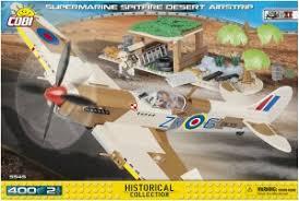 """Пластиковый <b>конструктор COBI</b> """"Самолет Supermarine Spitfire ..."""