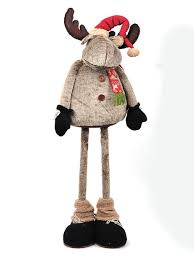 A moose decoration from Country Baskets Tundra <b>Christmas</b> range ...
