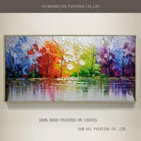Quality</b></font> <b>Modern</b> Abstract Funny Elephant Oil <b>Painting</b> on ...