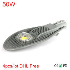 4pcs 50W <b>Led</b> Street Light IP65 Waterproof <b>Outdoor Lighting</b> For ...