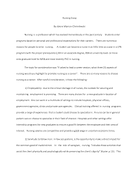 essays about nursing nursing entrance essay examples