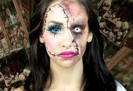 horror doll a scary makeup tutorial lacindina cindysold you