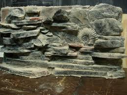 3D Fish Tank <b>Stone</b> Aquarium Background <b>Rock Wall</b> Foam Reptile ...