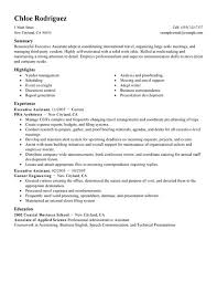 Best Executive Assistant Resume Example   LiveCareer LiveCareer