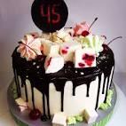 Украшение торта безе фото