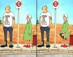 Image result for old lady fall  funny cartoon
