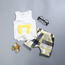 New Fashion <b>Baby Kids Toddler Boys</b> Sets Clothes 2 Pieces Short ...
