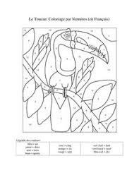 41e37564701f1ebf7ee98e44e4be969e teaching resources teaching ideas coloring sheet to learn colors in french! from kidsloveschool! on on adjective paragraph worksheets