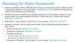 style sentence clarity strategy use active voice gina borrows 8 revising