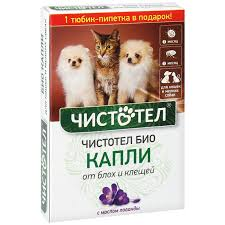 <b>Капли для</b> собак и кошек антипаразитные <b>Чистотел БИО</b> 15мл ...