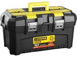 <b>Ящик Stayer</b> 38016-19 пластиковый для <b>инструмента</b> ...