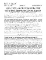example healthcare operations manager resume sample operations