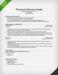 chronological resume samples  amp  writing guide   rgpharmacist resume sample chronological