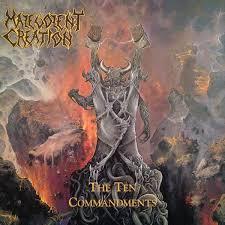 <b>Malevolent Creation - The</b> Ten Commandments | Discogs