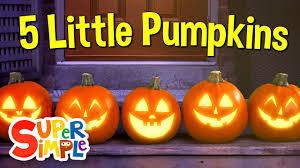 Five Little <b>Pumpkins</b> | <b>Pumpkin</b> Song | Super Simple Songs - YouTube