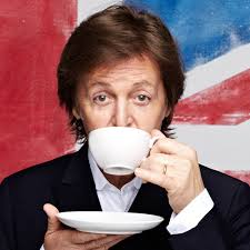 Rock and Roll History, Paul Mccartney. Most recently, McCartney has made a splash with a music video for his new song 'Queenie Eye'. - paul%2520mccartney,%2520classic%2520rock%2520bands,%2520sipping%2520tea