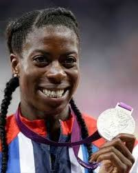 Christine Ohuruogu lost her title to American Sanya Richards-Ross. Ohuruogu, who lives just around the corner from the Olympic Park, took silver behind ... - 265800_1