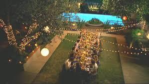 backyards string lights and lights on pinterest backyard party lighting ideas