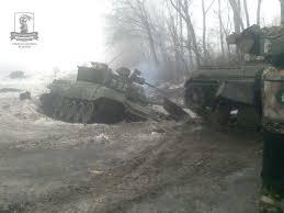 Бойцы ВСУ уничтожили 4 вражеских танка в районе Дебальцево, - пресс-центр АТО - Цензор.НЕТ 4482