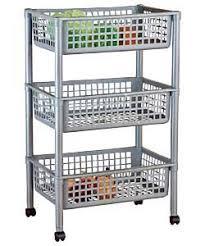 kitchen storage unit trolley