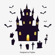 Simple Cartoon <b>Halloween</b> Design <b>Pattern</b>, <b>Halloween</b>, <b>Castle</b> ...