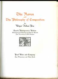 paul elder co the raven  title page of the raven