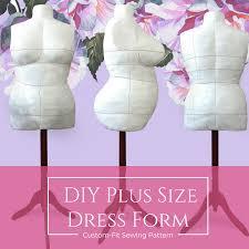 <b>DIY</b> Dress Form Sewing Pattern PDF | BootstrapFashion Patterns