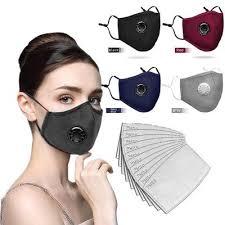 Super Fashion Unique Pm2 .5 <b>Mouth Mask Washable Reusable</b> ...