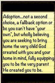 Bambino on Pinterest | Adoption, Adoption Quotes and Childproofing