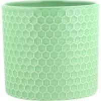 <b>Кашпо</b> д/цветов Соты <b>керамическое</b> в ассорт. YJ20190104 ...