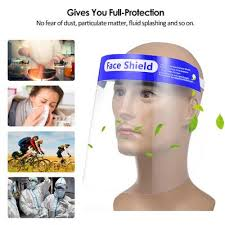 1/2/<b>5 PCS Adjustable</b> Protective Anti Droplet Dust-proof Full <b>Face</b> ...