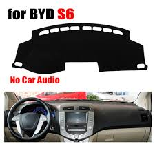 Black <b>Auto Dashboard Avoid light</b> pad For BYD S6 low configuration ...