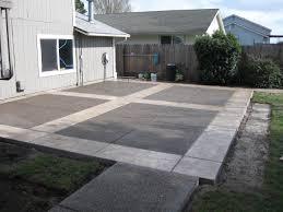 concrete patio designs design decorating concrete patio ideas backyard startling decorating backyard concrete p