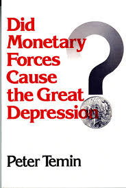 did monetary forces cause the great depression amazon co uk p did monetary forces cause the great depression amazon co uk p temin 9780393092097 books